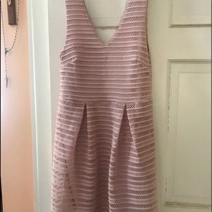 Dusty pink rose dress. Perfect for Spring /Summer!